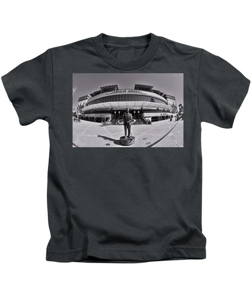 Amalie Arena Black And White Kids T-Shirt