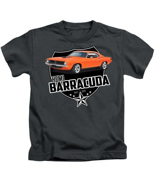 American 'cuda Kids T-Shirt