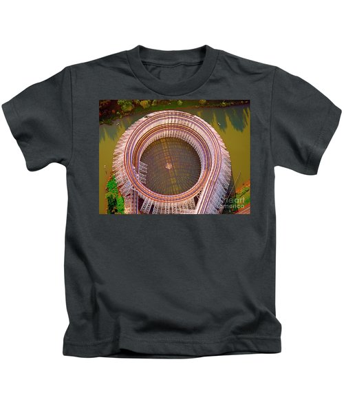 American Eagle Roller Coaster  Kids T-Shirt