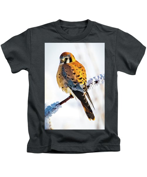 American Kestrel Kids T-Shirt