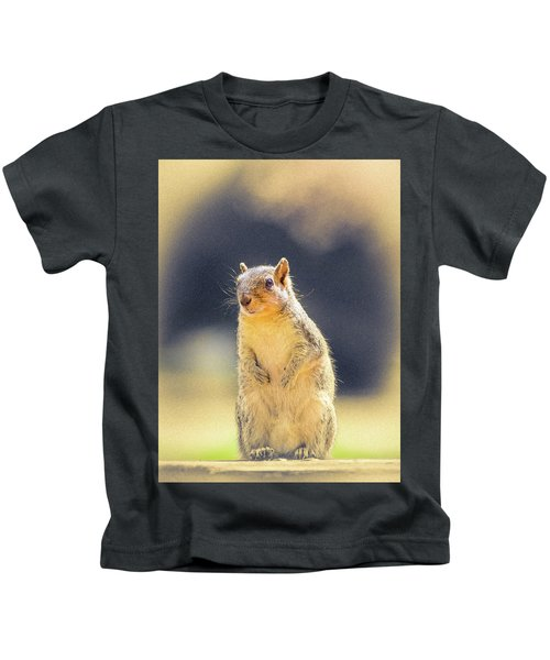 American Red Squirrel Kids T-Shirt
