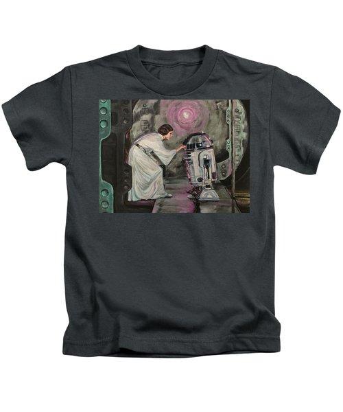 An Act Of Rebellion Kids T-Shirt