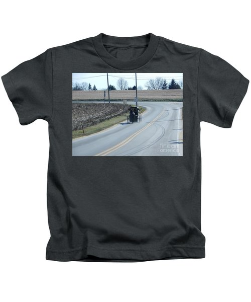 An Afternoon Buggy Ride Kids T-Shirt