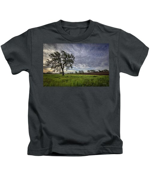 An April Sunday Morning Kids T-Shirt