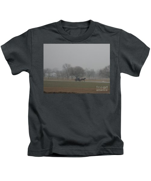 An Evening Buggy Ride Kids T-Shirt