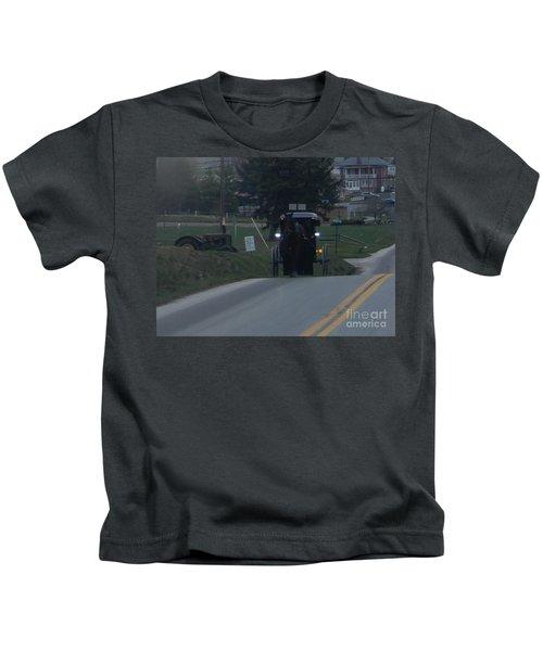 An Evening Commute Kids T-Shirt