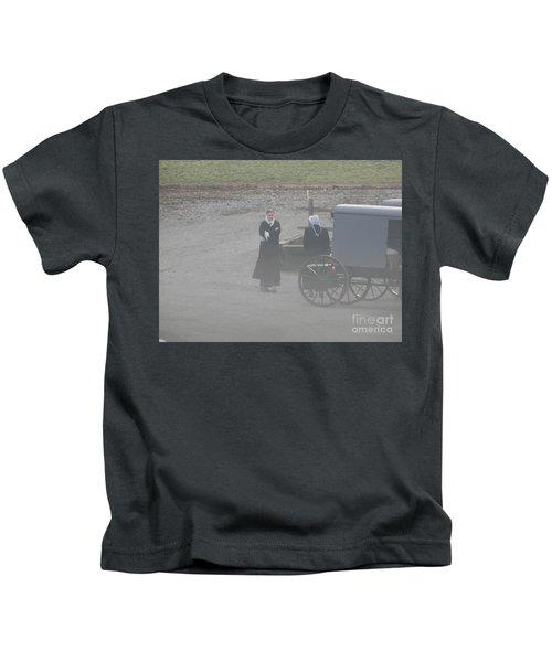 An Evening Goodbye Kids T-Shirt