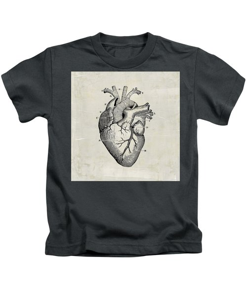 Anatomical Heart Medical Art Kids T-Shirt
