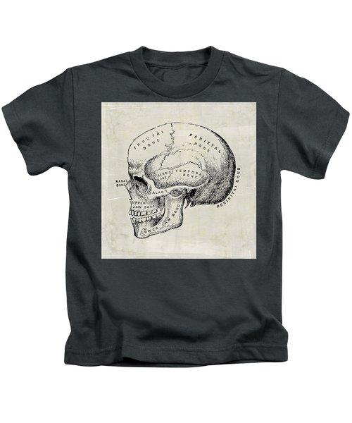 Anatomical Skull Medical Art Kids T-Shirt