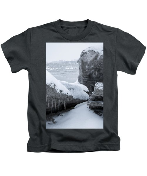 Anchorage In The Icebergs Kids T-Shirt