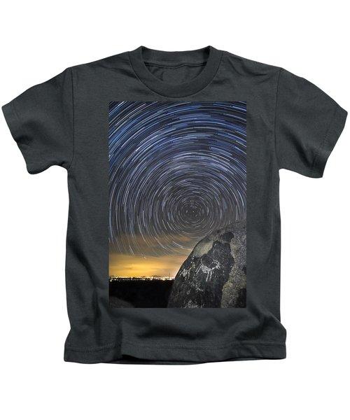 Ancient Art - Counting Sheep Kids T-Shirt