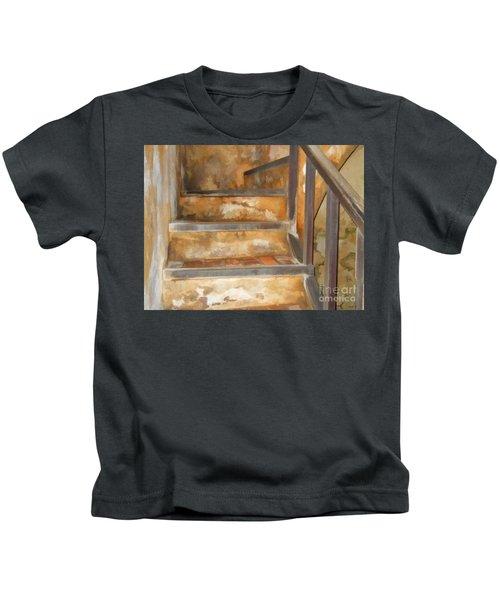 Ancient Stairway Kids T-Shirt