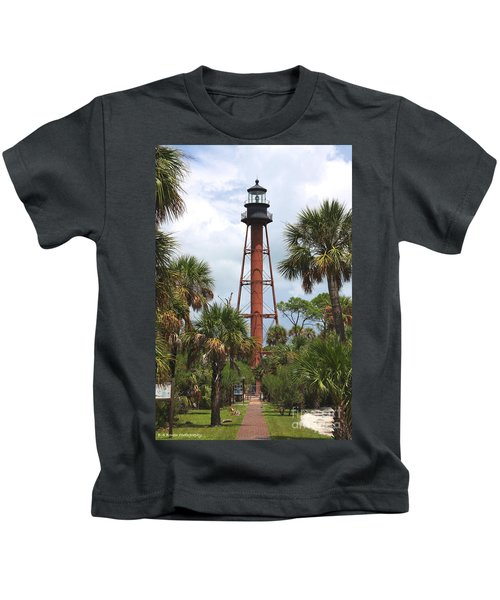 Anclote Key Lighthouse Kids T-Shirt