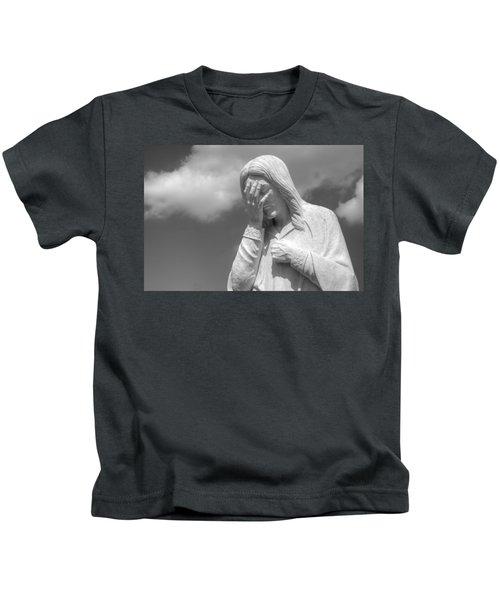 And Jesus Wept II Kids T-Shirt