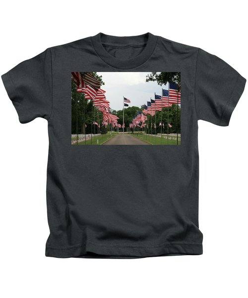 Andersonville National Cemetery Kids T-Shirt