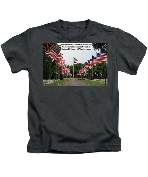 Andersonville National Park Kids T-Shirt