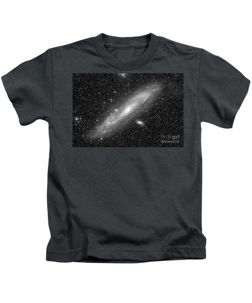 Andromeda Galaxy Kids T-Shirt