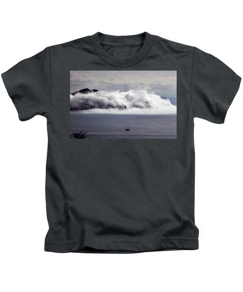 Angel Island Fog Kids T-Shirt