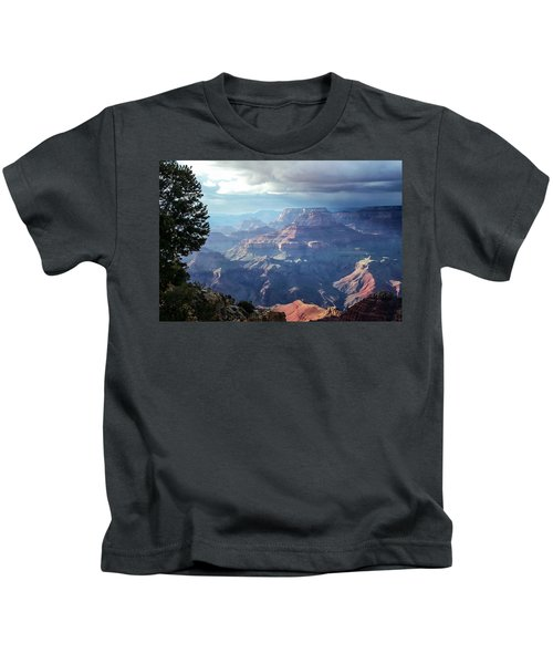 Angel S Gate And Wotan S Throne Grand Canyon National Park Kids T-Shirt