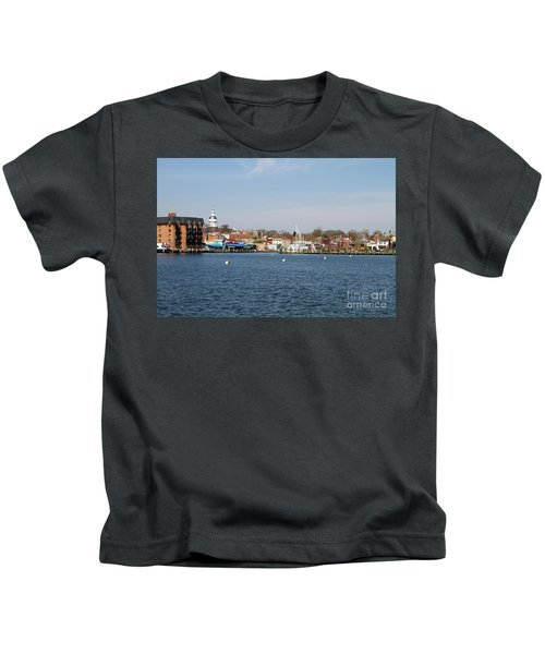 Annapolis City Skyline Kids T-Shirt
