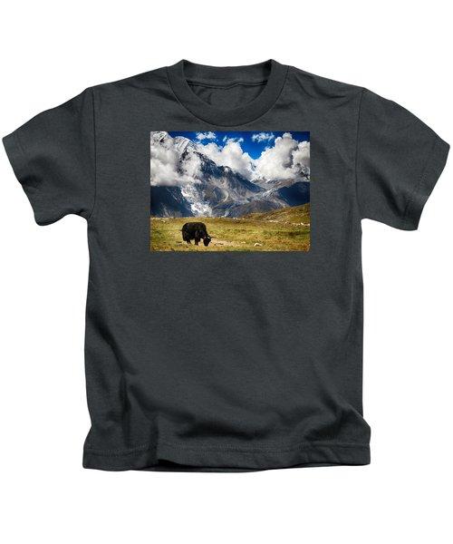 Annapurna Mountain Ranges Kids T-Shirt