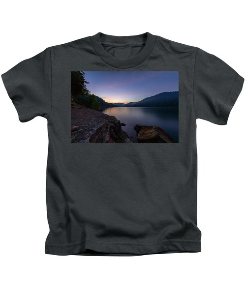 Another Day At Windy Bay Kids T-Shirt