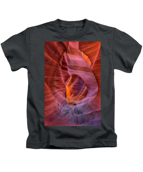 Antelope Canyon Chimney Kids T-Shirt