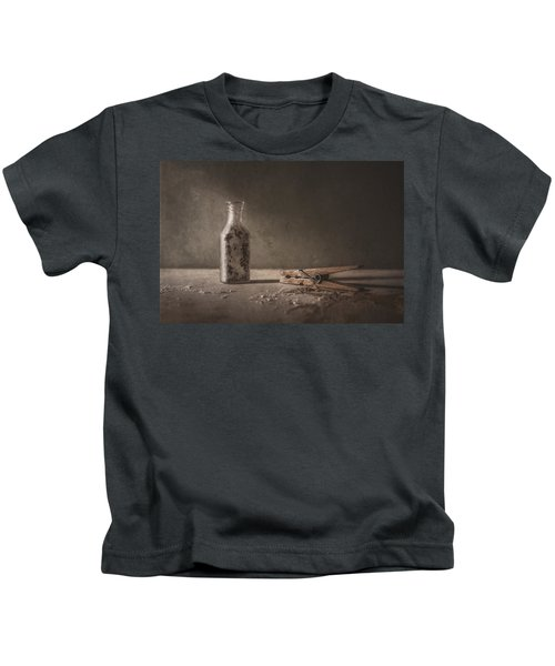 Apothecary Bottle And Clothes Pin Kids T-Shirt