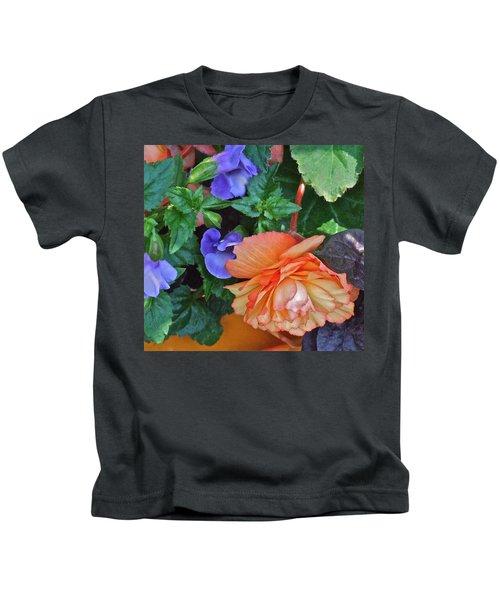 Apricot Begonia 1 Kids T-Shirt