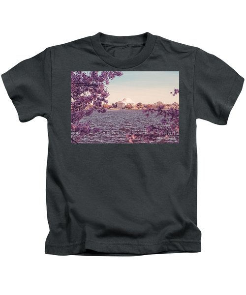 April In Dc Kids T-Shirt