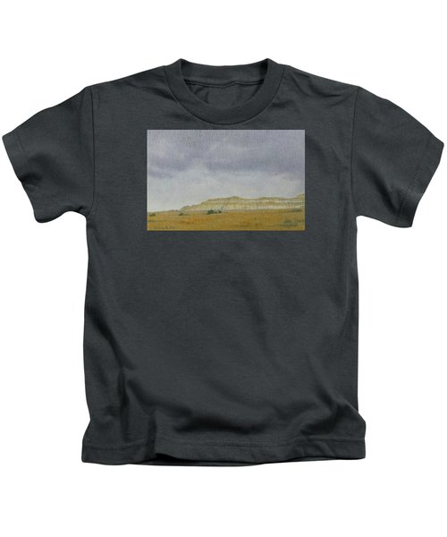 April In The Badlands Kids T-Shirt