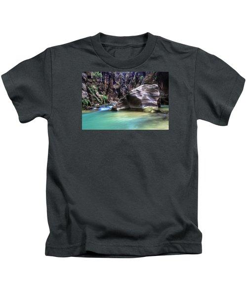 Aquamarine Kids T-Shirt