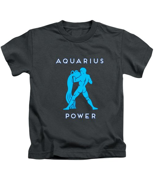 Aquarius Power Kids T-Shirt
