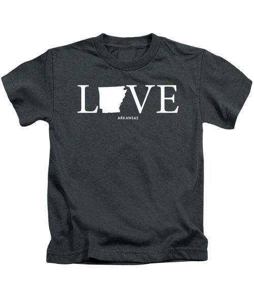 Ar Love Kids T-Shirt by Nancy Ingersoll