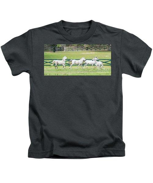 Arabian Horses Kids T-Shirt