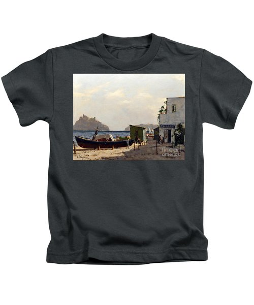Aragonese's Castle - Island Of Ischia Kids T-Shirt