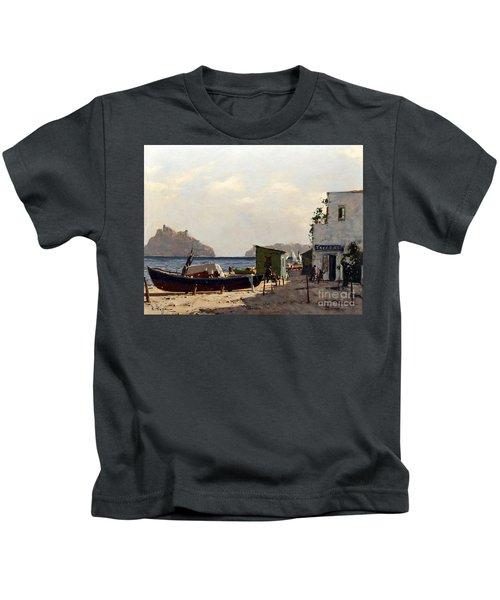 Aragonese's Castle - Island Of Ischia Kids T-Shirt