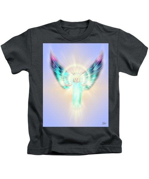 Archangel Uriel - Pastel Kids T-Shirt