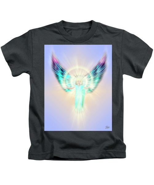Archangel Uriel - Pastel Kids T-Shirt
