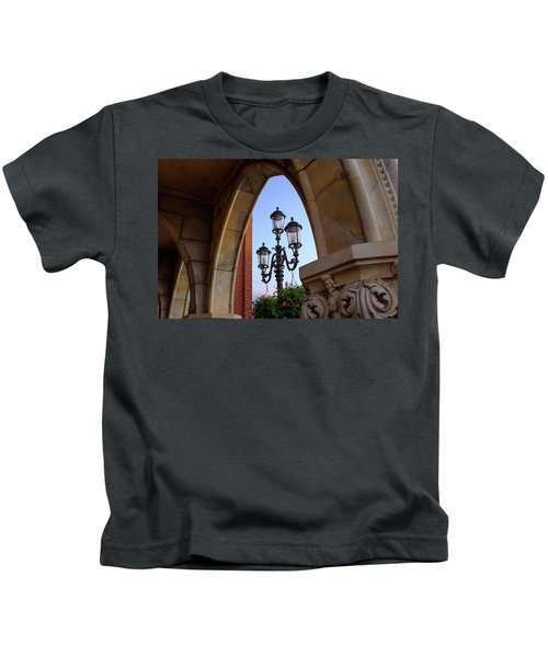 Archway And Lights In Orlando Florida Kids T-Shirt