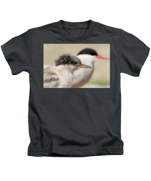Arctic Tern Chick With Parent - Scotland Kids T-Shirt