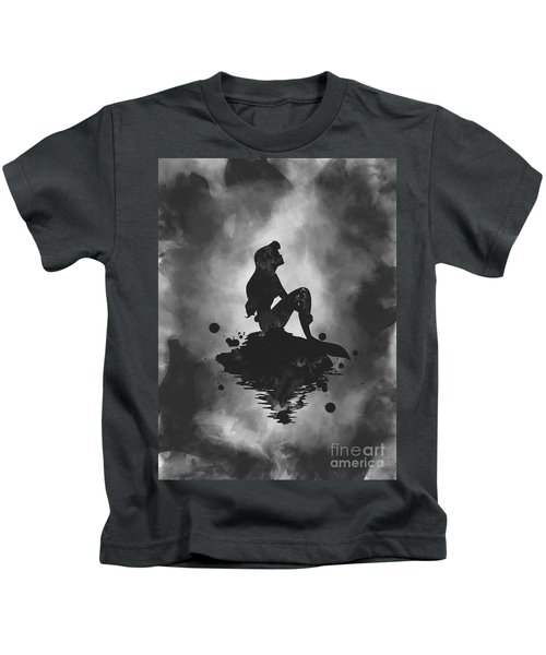 Ariel Noir Kids T-Shirt