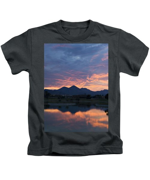 Arizona Sunset 2 Kids T-Shirt