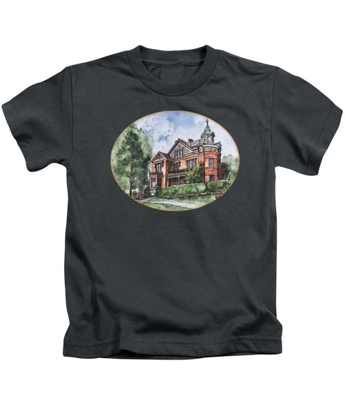 Armstrong Mansion Kids T-Shirt