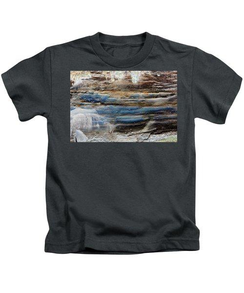 Art Print Cliff 1 Kids T-Shirt