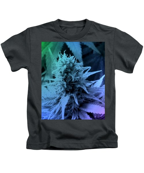 Artful Oasis Macro Abstract 112216.5 Kids T-Shirt