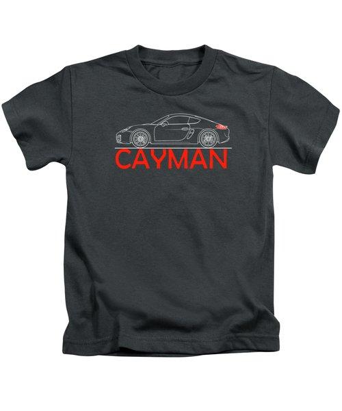 Porsche Cayman Phone Case Kids T-Shirt