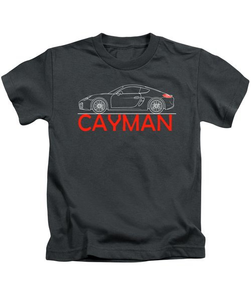 Porsche Cayman Phone Case Kids T-Shirt