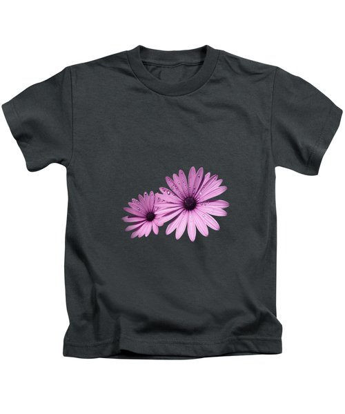 Dew Drops On Daisies Kids T-Shirt