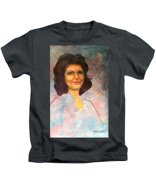 Selfportrait Kids T-Shirt